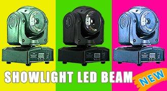 Вращающаяся голова beam SHOWLIGHT LED BEAM 60W