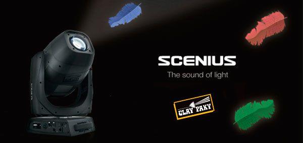 Clay Paky Scenius вращающиеся головы