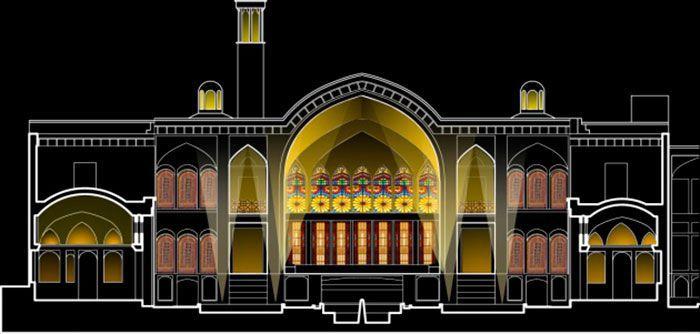 Проект архитектурного освещения «Драгоценный камень ночи»