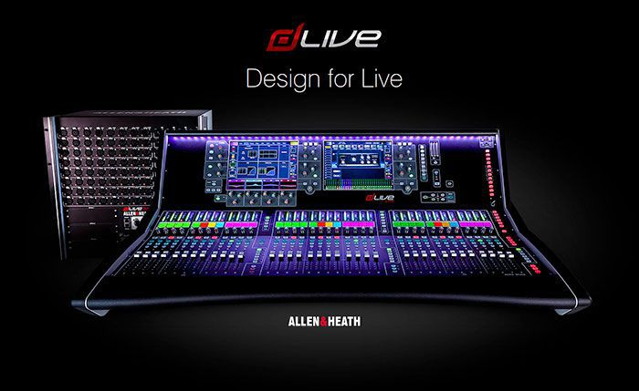 Микшеры dLive от Allen&Heath